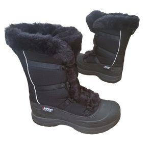 BAFFIN SNOWCLOUD Black Boots Size 8